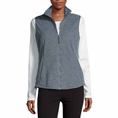 Made For Life Fleece Vest-Talls