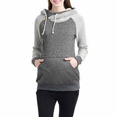 Momo Baby Mattie Long Sleeve Pullover Sweater-Maternity