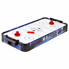 Hathaway Blue Line 32-In Portable Table Top Air Hockey Table