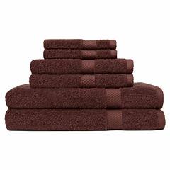 Carefree Comforts™ Ringspun 6-pc. Towel Set