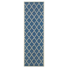 Couristan® Ocean Port Indoor/Outdoor Rectangular Runner Rug