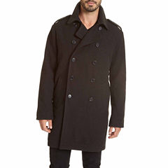 Excelled® Double-Breasted Pea Coat
