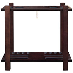 Hathaway Classic Floor Billiard Pool Cue Rack