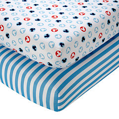 Disney Mickey Mouse Fitted Crib Sheets