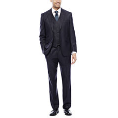 Steve Harvey® Charcoal Check Suit Separates