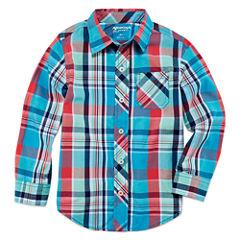 Arizona Long Sleeve Button-Front Shirt Boys