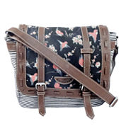 Union Bay Bird Print Messenger Bag
