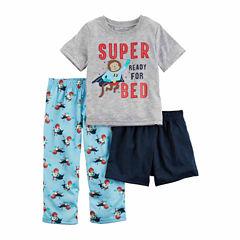 Carter's 3-pc. Shorts Pajama Set Boys
