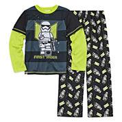 Boys Long Sleeve Star Wars Kids Pajama Set-Big Kid