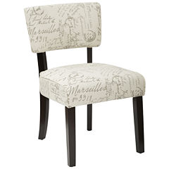 Gardena Fabric Club Chair