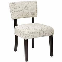 Gardena Fabric Club Chair
