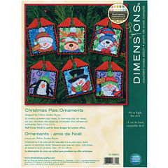 Counted Cross Stitch Ornaments – Christmas Pals