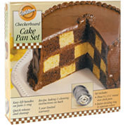 Wilton® Checkerboard Cake Pan Set