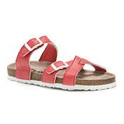 Muk Luks® Deedee Buckle Sandals