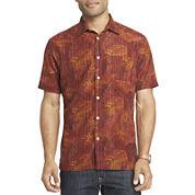 Van Heusen® Short-Sleeve Printed Shirt