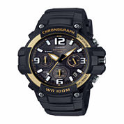 Casio Mens Black Strap Watch-Mcw100h-9a2v