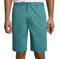 St. Johns Bay Legacy Flat Front Stretch Short (Multi Colors)