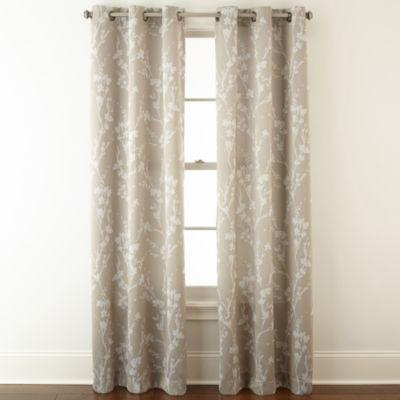 Monterey 2 Pack Room Darkening Grommet Top Curtain Panels