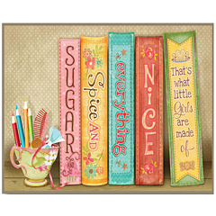 Library Canvas Wall Art