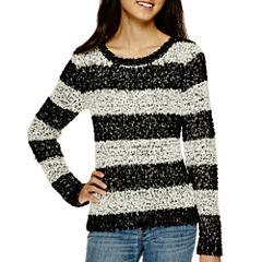 Arizona Long-Sleeve Popo Sweater  - Juniors