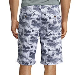 "Arizona Printed 10¼"" Inseam Flat-Front Shorts"
