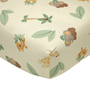 NoJo® Jungle Babies Crib Sheet