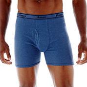 Hanes® 4-pk. Cotton Tagless Comfort Flex® Waistband Boxer Briefs