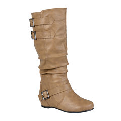 Journee Collection Tiffany Riding Boots - Extra Wide Calf