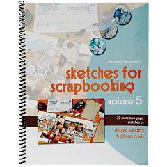 Scrapbook Generation-Sketches For Scrapbooking Volume 5