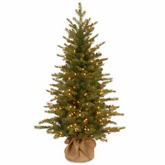 National Tree Co. 4 Foot Nordice Spruce Pre-Lit Christmas Tree