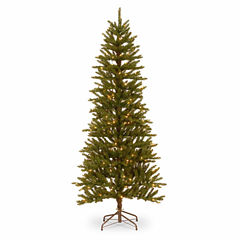 National Tree Co. 6 1/2 Foot 2-D Wrapped Pre-Lit Christmas Tree