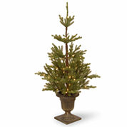 National Tree Co. 4 1/2 Feet Imperial Spruce Entrance Pre-Lit Christmas Tree