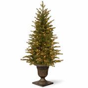 National Tree Co. 4 Feet Nordic Spruce Entrance Pre-Lit Christmas Tree