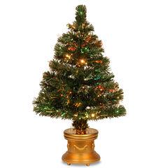 National Tree Co. 3 Foot Radiance Pre-Lit Christmas Tree