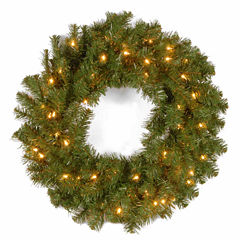 National Tree Co. Kincaid Spruce Indoor/Outdoor Christmas Wreath