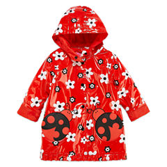 Wippette Girls Ladybug Raincoat-Toddler