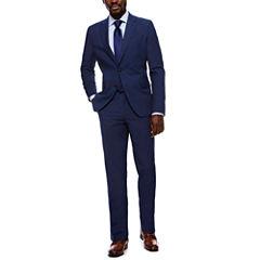 JF J. Ferrar Stretch Med Blue Suit Separates- Slim Fit