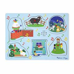 Melissa & Doug® Nursery Rhymes 2 - Sound Puzzle