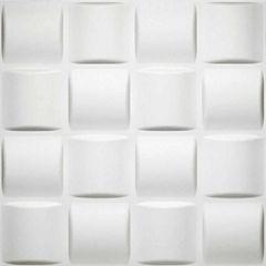 Donny Osmond Basket Weave 19.6x19.6 Self Adhesive Wall Tile - 10 Tiles/26.70 Sq Ft.