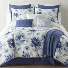 Home Expressions Claire 10-pc. Floral Comforter Set & Accessories