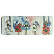Bacova Guild Bird House Americana Printed Rectangle Anti-Fatigue Rugs