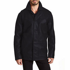 Excelled® Lambskin Car Coat