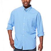 The Foundry Big & Tall Supply Co.™ Long-Sleeve Poplin Shirt