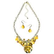 Mixit Womens 2-pc. Yellow Jewelry Set