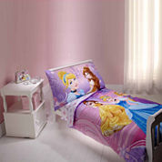 Disney Princess Dress To Shine 4 Piece Toddler Bedding Set