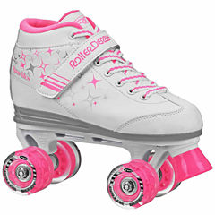 Roller Derby Sparkle Lighted Wheel Roller Skates - Girls