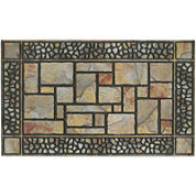 Patio Stones Rectangular Doormat