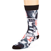 adidas® Mens Neo Sublimated Crew Socks