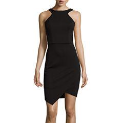 Bisou Bisou®  Sleeveless Halter Bodycon Dress