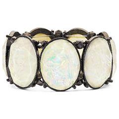 Hematite Opalescent Shimmer Bracelet